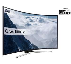 Samsung 55KU6100 55 Inch Curved Ultra HD Smart LED TV@ argos £749 (Free C&C)
