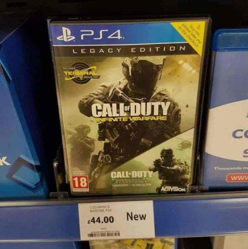 Call of Duty Infinite Warfare Legacy Edition £44 @ Tesco (instore)