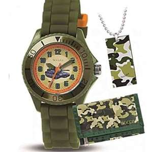 Tikkers boys camouflage watch, dog tag & wallet rrp 21.99 £5 (Prime) Sold by NIGHT STAR and Fulfilled by Amazon