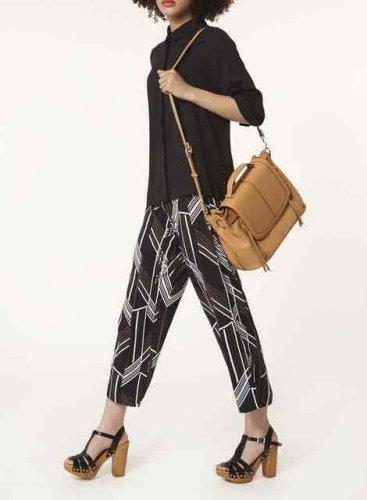 Tan Double Sip Satchel Bag £10 @ Dorothy Perkins
