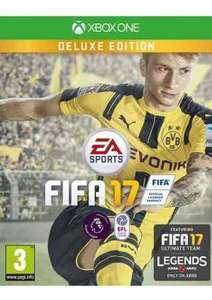 Xbox one Fifa 17 deluxe edition £38.95 simplygames