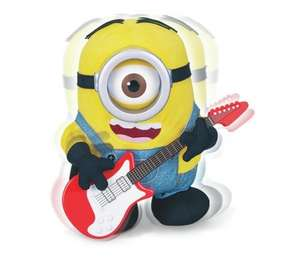 Argos selling Minions including Despicable me rock'n'roll Stuart for £9.99