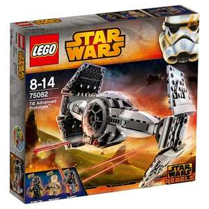 LEGO Star Wars 75082 Rebels TIE Advanced Prototype: £9 at JohnLewis