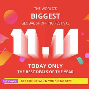 AliExpress Global Shopping Festival 50% off many items - TODAY ONLY