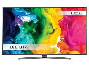 "LG 55UH661V LED HDR 4K Ultra HD Smart TV, 55"" With Freeview HD/Freesat HD now £599 delivered at John Lewis (+ 5 Years Guarantee)"