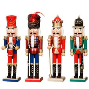 Nutcracker Christmas Decoration just £4.99 at B & M
