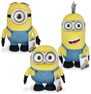 Despicable Me Minions Huggable Plush Assortment was £5.49 now £1.99 at Argos (Free R+C)