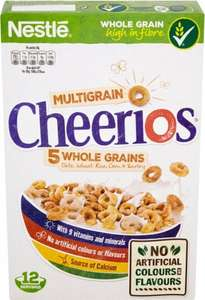 Nestle Cheerios Cereal (375g) was £2.39 now £1.00 @ Iceland