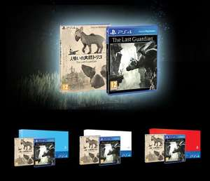 The Last Guardian PS4, Exclusive Launch Edition with Sleeve, Exclusive Mini Soundtrack or Free PS4 Faceplate (White, Blue or Red) - £39.85  @ ShopTo
