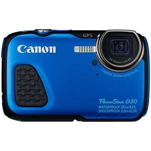 Canon PowerShot D30 Waterproof Camera £199 delivered @ John Lewis