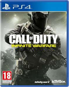 Call of Duty Infinite Warfare (Inc Zombies in Space and Terminal bonus multiplayer map) plus 10% Quidco - PS4/Xbox One £31.99 @ Simply Games