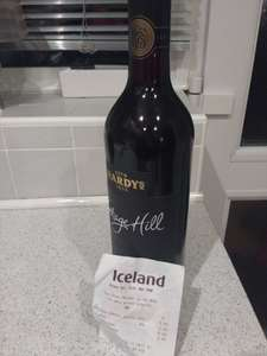Hardys Shiraz Red Nottage Hill - Iceland Instore - £3