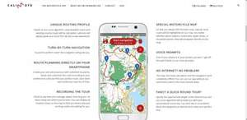 calimoto motorbike satnav GPS - special discounts up to 45% - £9 @ Google Play