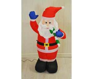 Inflatable Santa indoor and outdoors £21.98 Delivered @ Selections