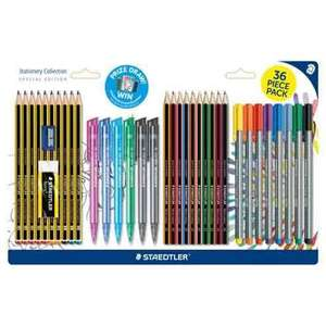 Staedtler Limited Edition Stationery Collection – 36 pieces reduced to £8 @ tesco direct