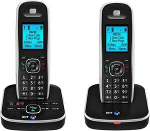 BT 5510 Cordless Telephone with Answer Machine Single/Twin@ Argos/eBay