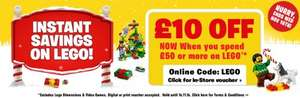 Lego deals - Police Station 59.99, Fire station 44.99 & Millennium Falcon 79.99 with code @ Smyths