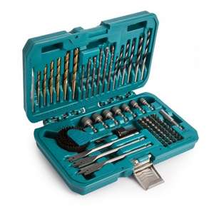 Makita 75 piece accessory kit for £15.00  / £21.95 delivered @ Toolstop