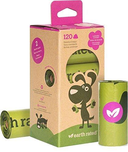 120 Dog Poop Bags Lavender scented £5.49 prime /  £9.48 non prime @ Amazon