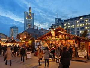 Couple/Family Break: Frankfurt December Christmas Markets 3 Night City Break at Best Rated Hotel in Frankfurt for 2 £208, 2 adults + 2 children £275 @ Premier inn