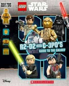 Lego Star Wars Guide to Galaxy +C3P0 Minifigure £6.43 @ Wordery