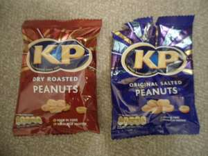 KP Salted And Dry Roasted Peanuts 79p Each For 200g Bag @ Heron Foods
