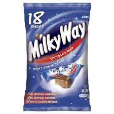 18pk fun size Milkyway £1.00 ICELAND