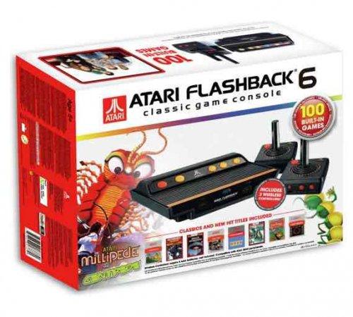 Atari Flashback 6, 100 built in games £34.99 @ Argos EDIT 18/11/16 NOW 10% QUIDCO CASHBACK AT ARGOS!!