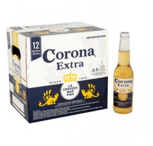 Corona Extra Lager 12 pack £10 @ Asda
