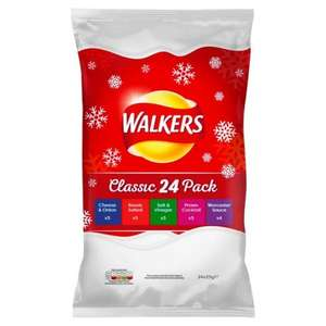 Walkers Classic Variety 24 Pack £2.50 half price @ Morrisons Instore and Online