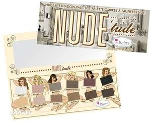 The Balm Nude Tude Palettes Eyeshadow - £14.99 HALF PRICE @ Tesco / gbgifts