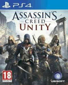 Assassin's  Creed Unity ps4 £4.99 @ Game instore