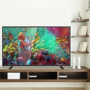 ElectriQ 55 Inch 4K Ultra HD LED TV with Freeview HD £419 / £426.27 delivered @ Direct tv's