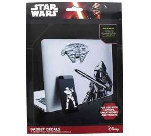 Star Wars Decals £0.49! Argos free click and collect