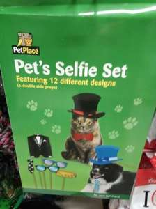 Pet selfie set £1 @ poundland