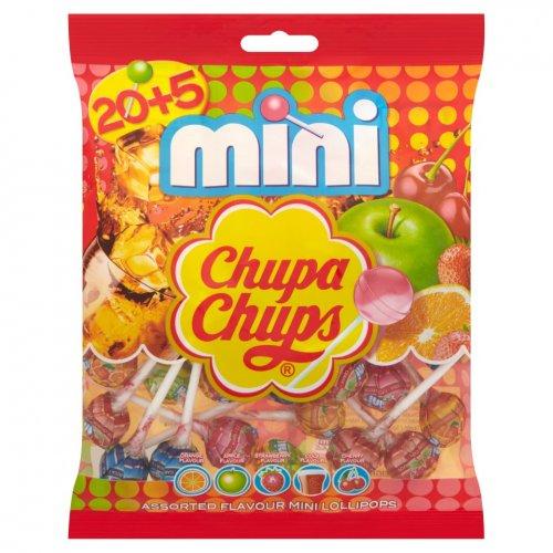 25 mini chuppa chup lollies £1 at poundworld