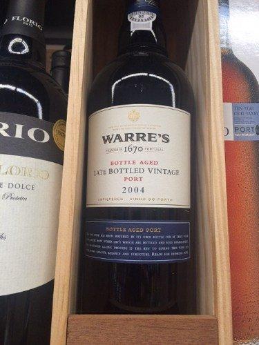 Warre's Bottle-Aged Late-Bottled Vintage Port 2004 £14.85 @ Waitrose shop and Cellar