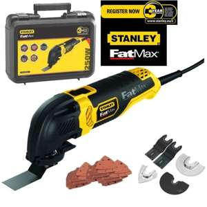 FatMax Stanley Oscillating Multi-Tool FME600k 250W £31 @ Homebase - Andover