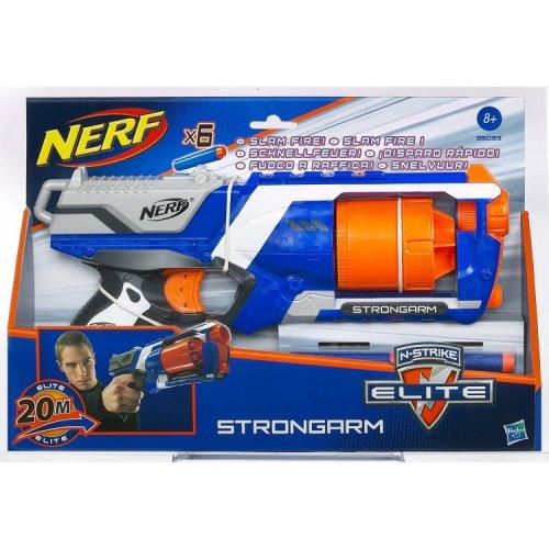 Nerf Gun N-Strike Elite Strongarm Blaster £7.67 TESCO DIRECT (FREE NEXT DAY C+C)