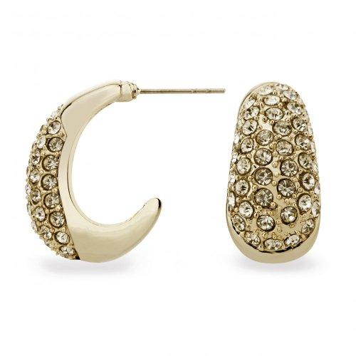 mood crystal embellished mini gold plated hoop earring was £10 now £3 at debenhams