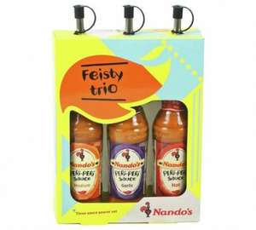 Nandos 3 Sauce Drizzler Gift Set £10.39 @ Argos