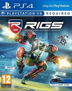 RIGS for PlayStation VR - disc only £22.98 @ iTec LTD / Ebay