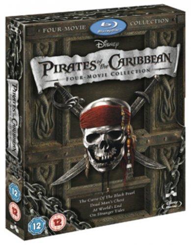 Pirates Of The Caribbean 1-4 (Blu Ray) £9.99 @ HMV