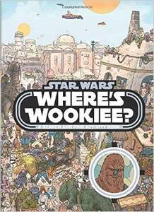 Star Wars: Where's the Wookiee? [Paperback]  £3.49 Delivered / Disney Princess 1000 Stickers £2.54 @ Book Depository
