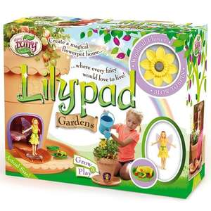 My Fairy Garden Lilypad Garden Playset | £9.49 at Tesco Direct - Free Click and Collect