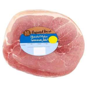 Morrisons medium gammon joint price glitch £3.50 per joint