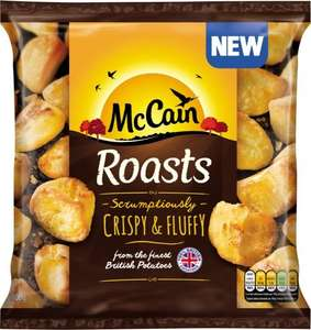 McCain Roasts (800g) was £2.00 now £1.00 (Mysupermarket are offering 100% Casback so they are effectively FREE) @ Waitrose