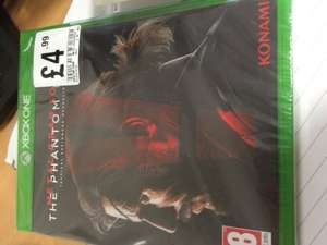 Metal Gear Solid V - HMV £4.99