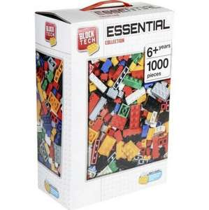 Lego compatible Block Tech 1000 Piece Box Of Bricks £10 down from £20 @ Tesco