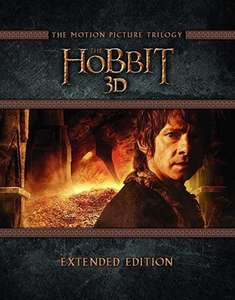 The Hobbit Trilogy - Extended Edition (Blu-ray & 3D) - £27.99 @ Amazon